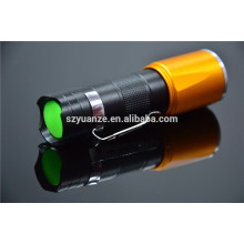 zoom dimmer led flashlight, chinese led torch flashlight, t6 led flashlight