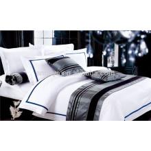 Bedding Set Hotel com lençol Folha Almofada Almofadas Roupa de Cama Set China
