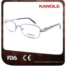 China Wholesale Women dimond Metal Eyewear optical Frame