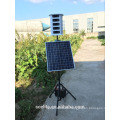 Repelente de aves solar máximo con 8 sonidos y tarjeta chip de sonido reemplazable