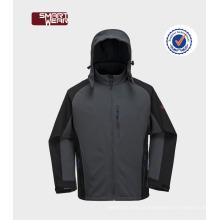 Inverno ao ar livre Ativo à prova d 'água de inverno-zip windstopper mens jaquetas softshell