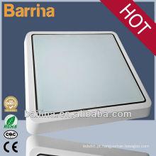 Impermeável e poupança de energia LED cozinha luz quadrado lâmpada do teto