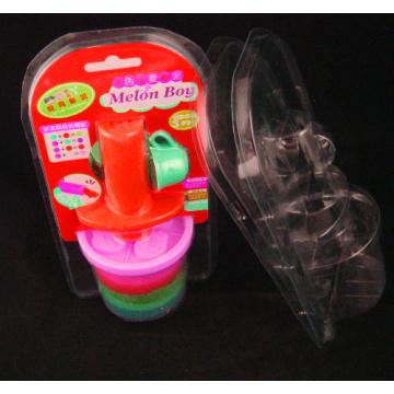 Прозрачный пластиковый ПВХ ПЭТ раковины моллюска блистерная упаковка (пакет)