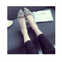 Scharfe Zehe Frauen Schuhe Causual Schuhe Freizeit Schuhe
