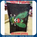 Polyester Fabric Advertising Flaggor med skärmtryck