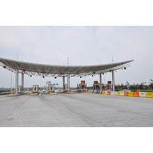 Steel Space Frame Structure Roofing System Used for Toll Station From China Manufacturer