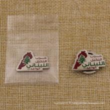 Badge d'aimant de cadeaux de souvenir de promotion avec le logo de compagnie