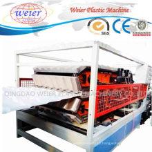 ПВХ Глазурованных плиток Толя волны пластиковый лист производственная линия