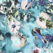 Новый продукт 100% вискоза атласная ткань для платья
