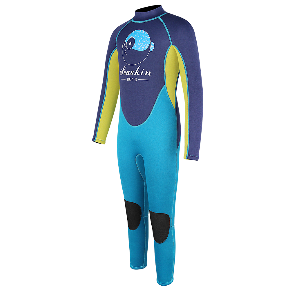 Seaskin Kids Back Zip Wetsuit for Diving