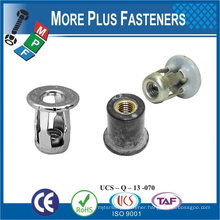 Made in Taiwan Screw Blind M6-1.0 Zinc with Raintite Roof Rack Mounting Jack Nut