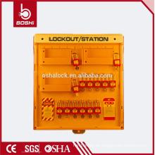 BD-B204 BRADY 10 Haken Schlüsselmanagement Station Kombination erweiterte Sperrstation