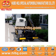 Japan technology 4x2 10CBM pull arm self-discharging refuse truck factory direct high quality and inexpensive