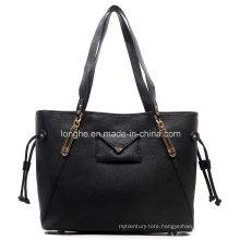 Designer PU Leather Top Handle Shopper Bag (ZXS0062)
