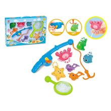 Летняя игрушка воды Опрыскивание животных Рыбалка игры игрушки (H1336128)