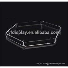 High Polished and Clear Acrylic Tray, OEM Service is Warmly Welcome