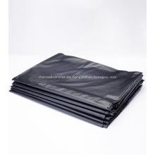 Bolsa de basura de polietileno en negro