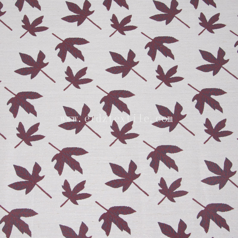 Leaf Design Curtain FR2141