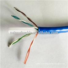 23AWG CCA utp cat6 lan fios para comunicação ADSL