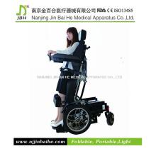 DC sin escobillas eléctrica motorizada silla de ruedas permanente