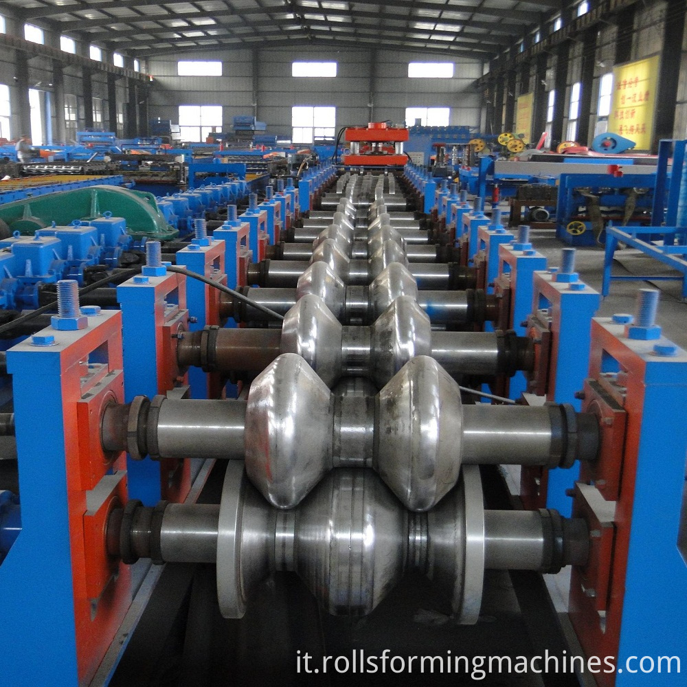 roll forming for Freeway Steel Guardrail Forming Machine