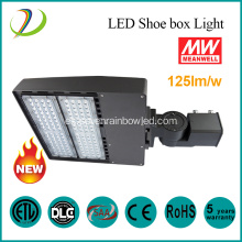 100W Led Shoe Box Luz de estacionamiento