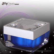 Jy218 50g tarro cosmético cuadrado con cualquier Color