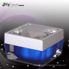 Jy218 50g quadratum frasco cosmético com qualquer cor
