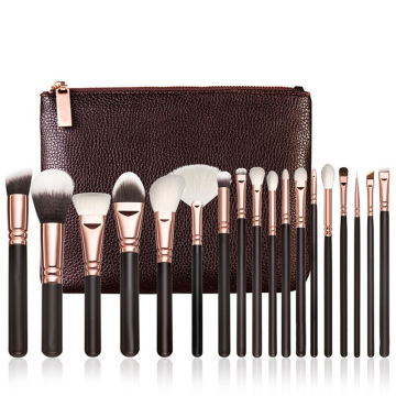 Professionelles 18-teiliges Make-up-Pinsel-Set aus synthetischem Haar