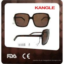 2015 Óculos de sol personalizados acetato de alta qualidade