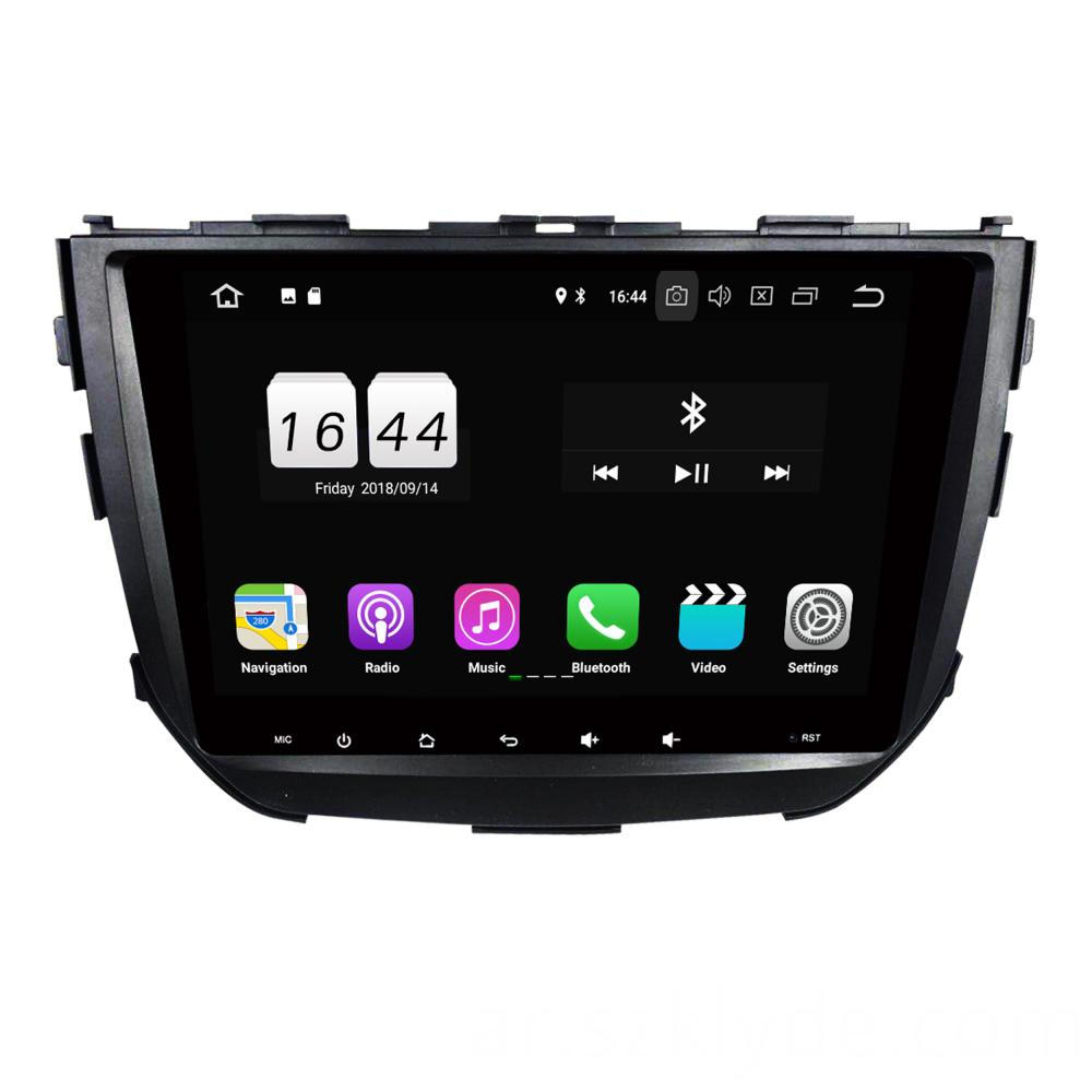Vitara Breeza 2015 car entertainment