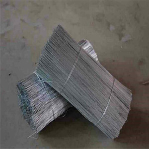 straight cutting small coil tie wire