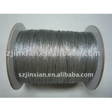 0.8 мм серебряный вися шнуром