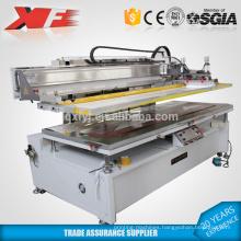 Vertical flat vacuum silk screen machine for sale