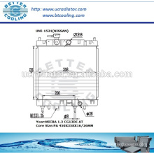 Radiator For Nissan Micra 1.3 CG13DE AT