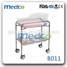 Medco B011 preço de berço para bebés médicos cama de hospital para bebês cama de bebê