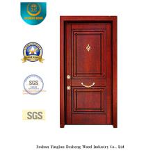 Porte en acier de sécurité pour la maison sans découpage (t-1011)