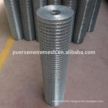 Galvanized square hole welded wire mesh manufacture