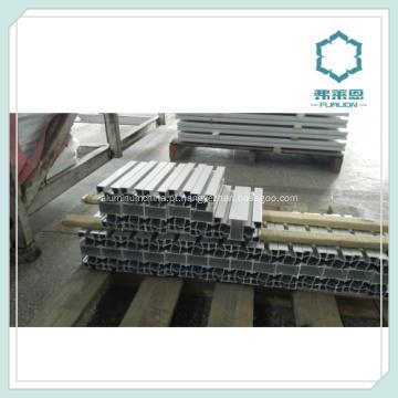Extrusão de alumínio de 20 x 20 em 6063 norma EN