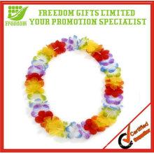 Kundengebundene Förderungs-Hawaii-Blumen-Leu- / Blumen-Halskette / Blumen-Girlande