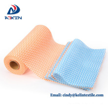 Wholesale kitchen disposable dish washing cloth nonwoven cleaning cloth