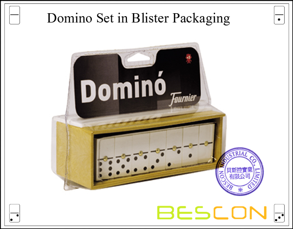 Domino Set in Blister Packaging