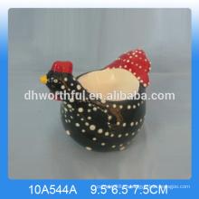 Хорошее качество керамические куриные яйца чашки, керамические яйцо чашки петух