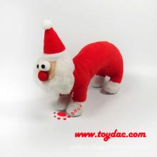 Plüsch Weihnachten Santa Ring Rassel