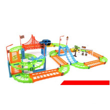 Venta al por mayor Changed Track Car Juguetes, juguetes educativos Multilayer Car Toy