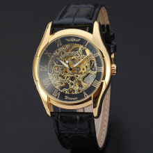 classical style winner vintage mechanical watch