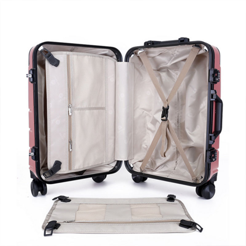 Polyester lining pc luggage