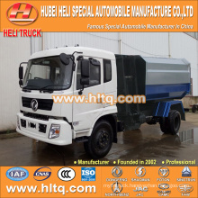 DONGFENG new style 12CBM side loader garbage truck 190hp