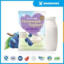 blueberry taste lactobacillus yogurt maker glass jars