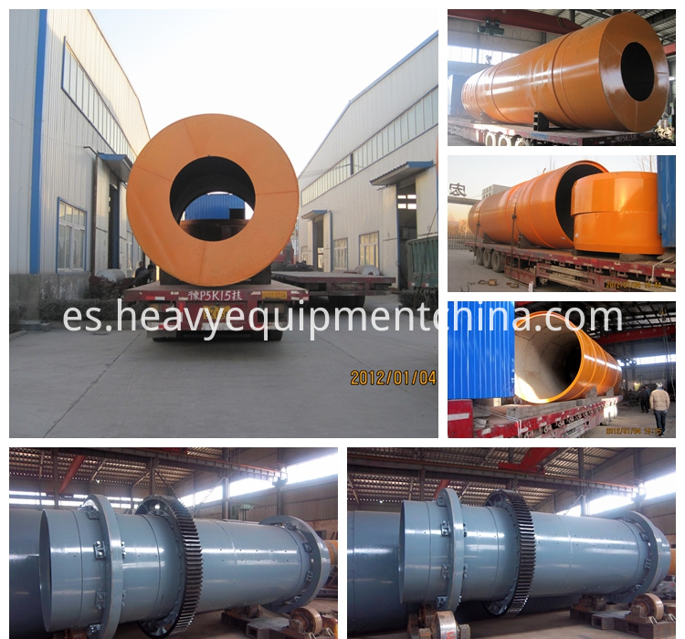 Clay Rotary Drying Drum Dryer